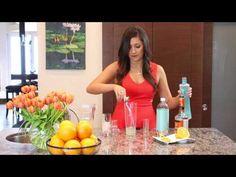 Be Tini Orange Cream Dream Instructional Video #BYOBeTini #cocktail #dessert #yum #lowcalorie #BeTini