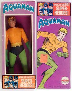 "gameraboy: ""1972 Mego Aquaman """