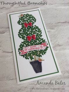 The Craft Spa - Stampin' Up! UK independent demonstrator : Thoughtful Branches…