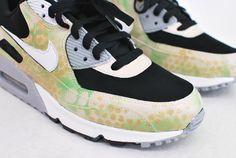 online retailer d8abf 550ea Camo Nike Air Max 90 Running Shoes - Hand Painted Air Max 90, Nike Air