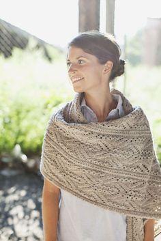 Topiary shawl- Brooklyn Tweed.