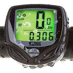 Fanmis Wireless Waterproof Backlight LCD Bike Computer Bicycle Speedometer Odometer With Multi Function >>> See this great product. (This is an affiliate link) #Accessories