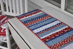 DIY Tutorial DIY home crafts  / DIY Another Table Runner - Bead&Cord