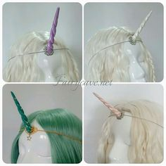 The new colours of our handmade unicorn horns are already in stock on our Etsy shop!! ... Los nuevos colores de nuestros Mini cuernos de unicornio están ya en stock en nuestra tienda Etsy!! ... #unicorn #fairycave #unicornhorn #circlet #tiara #fairy #mylittlepony #thelastunicorn #ladyamalthea #cosplay #costume #fashion #jewelry #jewelrydesigner #craft #crafter #artisan #artist #handmade #fantasy