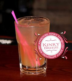 """Kinky Breeze""    • 2 oz. Kinky Liqueur  • 1 oz. #RonDiaz Coconut Rum  • Splash of Pineapple Juice    Instructions:  Pour ingredients over ice in a rocks or hurricane glass and stir. www.facebook.com/kinkyliqueur"