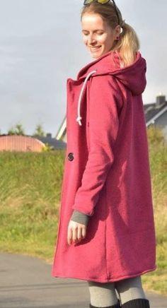 Mantel für Damen mit Ärmelvarianten -  Nähanleitung und Schnittmuster via Makerist.de