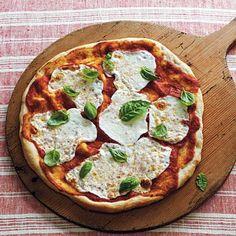 Mozzarella and Basil Pizza | CookingLight.com
