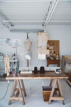 47 Trendy Fashion Design Studio Interior Home Design Studio Office, Workspace Design, Studio Layout, Art Studio Design, Creative Studio, Creative Ideas, Studio Interior, Interior Design, Interior Office