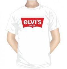 T-shirt imprimé : ELVIS