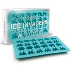 Ice Invaders Ice Cube Makers | GagGifts.com
