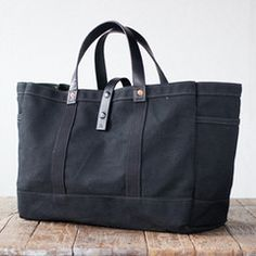 All Black Artifact Bag Co. Bag - made in Omaha $155