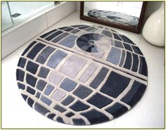 Star Wars Death Star Rug