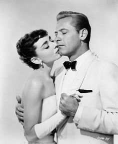 // sabrina - audrey & william holden Love Audrey! Such an amazing woman who went through so much early in life. She still became a inspiration.