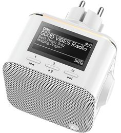 Hama DR40BT-PlugIn Radios, Usb, Good Vibes, Good Music, Dab Dab, Bluetooth, Power Strip, Image, Hama