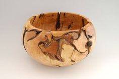 Lathe turned bowl from root ball by Vaughn McMillan Lathe Tools, Woodworking Lathe, Custom Woodworking, Woodworking Projects Plans, Wood Turning Lathe, Wood Turning Projects, Wood Lathe, Turning Tools, Cast Iron Beds