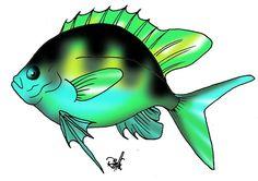 ,,, Underwater, Folk Art, Nautical, Crafts For Kids, Batman, Clip Art, Ocean, Fish, Superhero