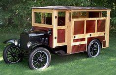 1925 Model T camper