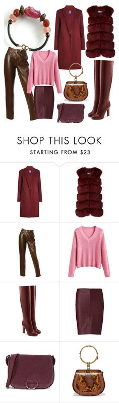 """""""Untitled #86"""" by natalya-zelenova on Polyvore featuring Theory, Cara Mila, Burberry, Victoria Beckham, Little Liffner and Chloé"""