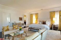 Kate Walsh's guest bedroom