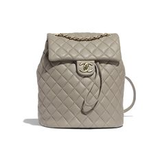 Discover the latest collection of CHANEL Handbags. Explore the full range of Fashion Handbags and find your favorite pieces on the CHANEL website. Mochila Chanel, Backpack Bags, Leather Backpack, Leather Bag, Chanel Handbags, Fashion Handbags, Coco Chanel Mademoiselle, Sacs Design, Grey Backpacks