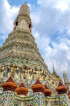 Wat Arun, Bangkok, Thailand Burj Khalifa, Golden Age, Bangkok Thailand, Building, Temples, Buildings, Architectural Engineering