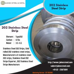 One of the leading manufacturers and exporters of 202 Stainless Steel Strip, ASTM ss 202 strip, UNS SS Strips Manufacturer at low rates from Mumbai, India. Stainless Steel Strip, Cold Rolled, Steel Metal, Mumbai, India, Steel, Bombay Cat