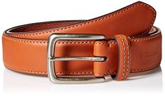 Columbia Mens Big  Tall Trinity 35mm Feather Edge Belt Tan 48 Extended Size ** For more information, visit image link.