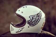 Outstanding custom motorcycles images are readily available on our site. look at this and you wont be sorry you did. Motorcycle Helmet Design, Cafe Racer Helmet, Custom Motorcycle Helmets, Custom Helmets, Motorcycle Gear, Motorcycle Accessories, Women Motorcycle, Retro Helmet, Vintage Helmet