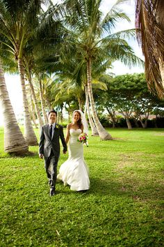 Our Olowalu Plantation wedding