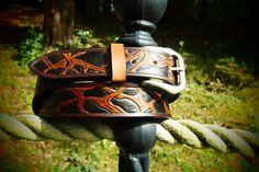 original leather belt leather facture belt