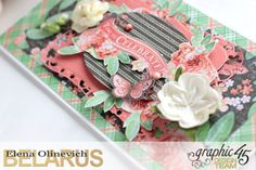 Wedding Cards  Time to Celebrate  by Elena Olinevich  product by Graphic45  photo5