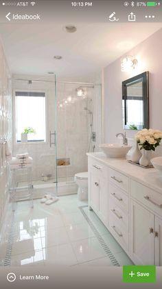 Kleines Bad Einrichten? 50 Vorschläge Dafür! | Badezimmer Ideen U2013 Fliesen,  Leuchten, Dekoration | Pinterest | House Interior Design, Small Bathroom  And ...