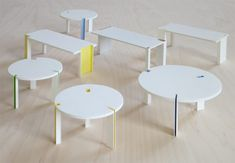 takeshi miyakawa: still de stijl round table - designboom | architecture