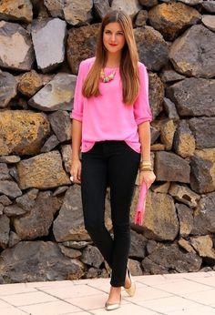 trabajo vestir de rosa