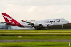 Qantas Boeing 747-438/ER (registered VH-OJU)
