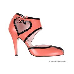 Virtual Shoe Museum : Love ❤ liked on Polyvore featuring shoes