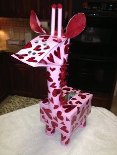 Pin by Rebecca Leyman on valentine crafts for school Puppy Valentines, Homemade Valentines, Valentines For Kids, Valentine Day Crafts, Valentine Ideas, Printable Valentine, Valentine Wreath, Cool Valentine Boxes, Diy Valentine's Mailbox