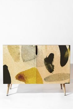 Georgiana Paraschiv AbstractM1 Credenza | DENY Designs Home Accessories