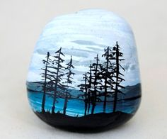 Painted Rock Landscape