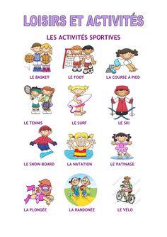 loisirs-et-activites by lebaobabbleu via Slideshare