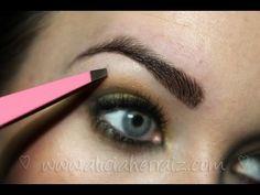 Cortar, depilar y maquillar. Tres pasos para tener unas cejas perfectas. - YouTube