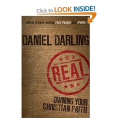 Real: Owning Your Christian Faith. A good message, especially for second-generation Christians and for the parents who are raising those children