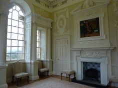 Beautiful interior, Chatelherault | The lodge was designed by William Adam and completed in 1734.