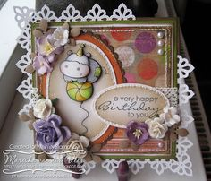 Sending you a little smile :): Whimsy Stamps showcase day 7 with 2 Cute Ink sample