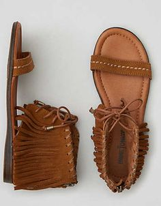Authentic designs. Free-spirited heritage. Shaping the moccasin's place in history since 1946.