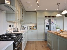 Check out what these folks did with this structure. New England Kitchen, New Kitchen, Kitchen Ideas, Kitchen Decor, Grey Kitchens, Home Kitchens, Kitchen Interior, Kitchen Design, Open Plan Kitchen Living Room