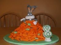 Bugs bunny - inspired by Debbie Brown