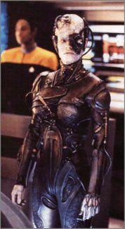 """Star Trek Voyager - Episode """"Scorpion II"""" (Lt. Commander Tuvok and Seven of Nine)."""