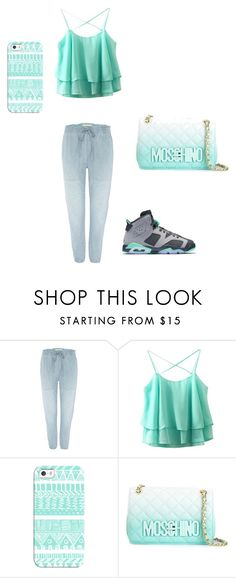 """cute"" by dallace16 on Polyvore featuring Denim & Supply by Ralph Lauren, Casetify and Moschino"