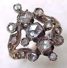 $900 Rare Georgian Diamond Ring